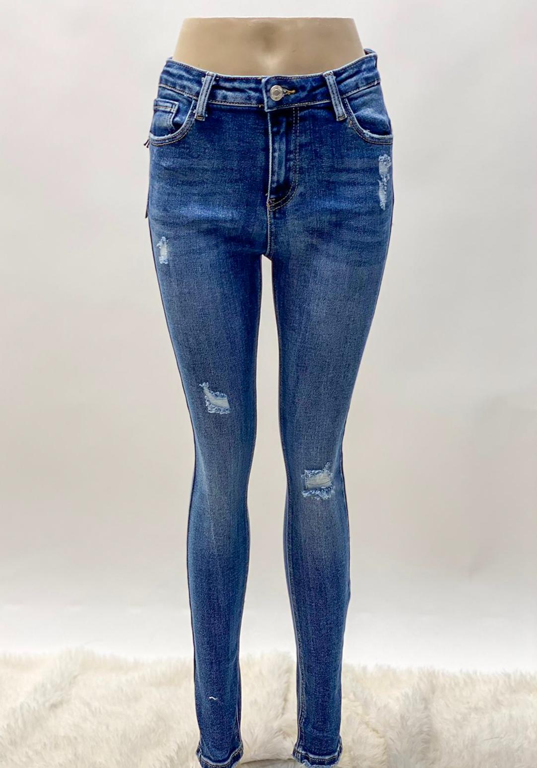 Jeanshose blue ripped