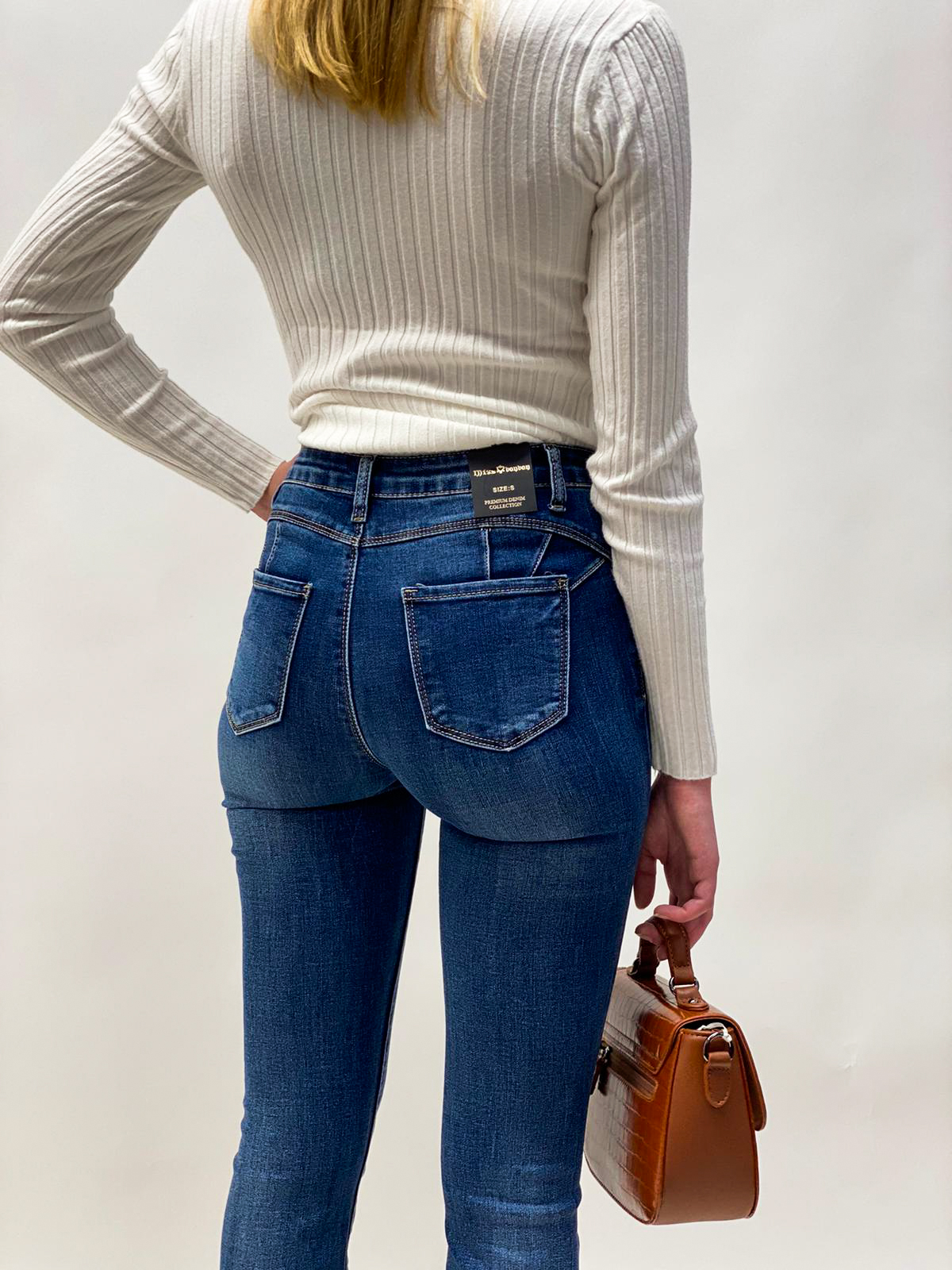 Jeans Schlaghose