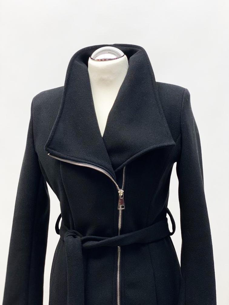 Mantel Kurz schwarz