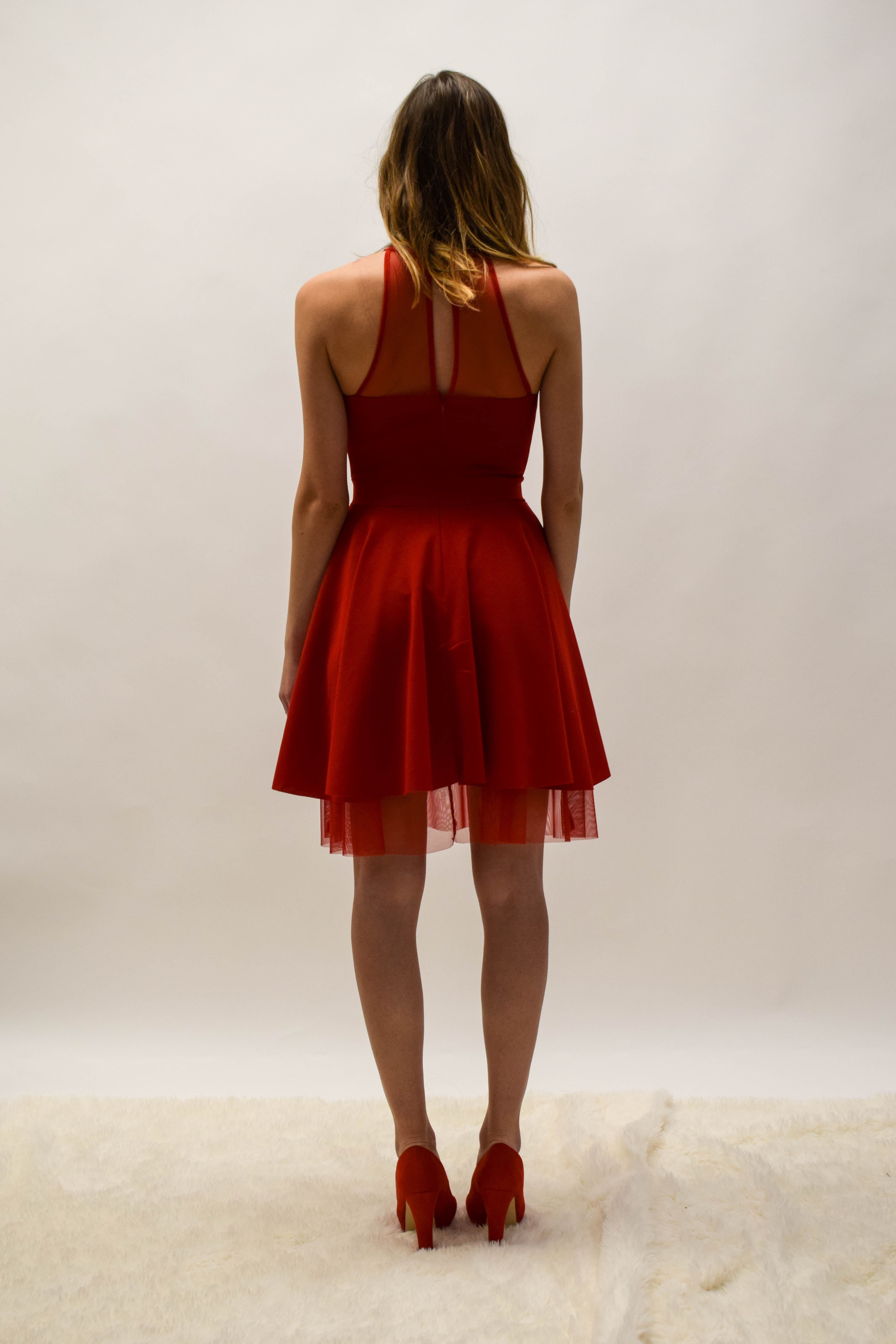 Partykleid Rot