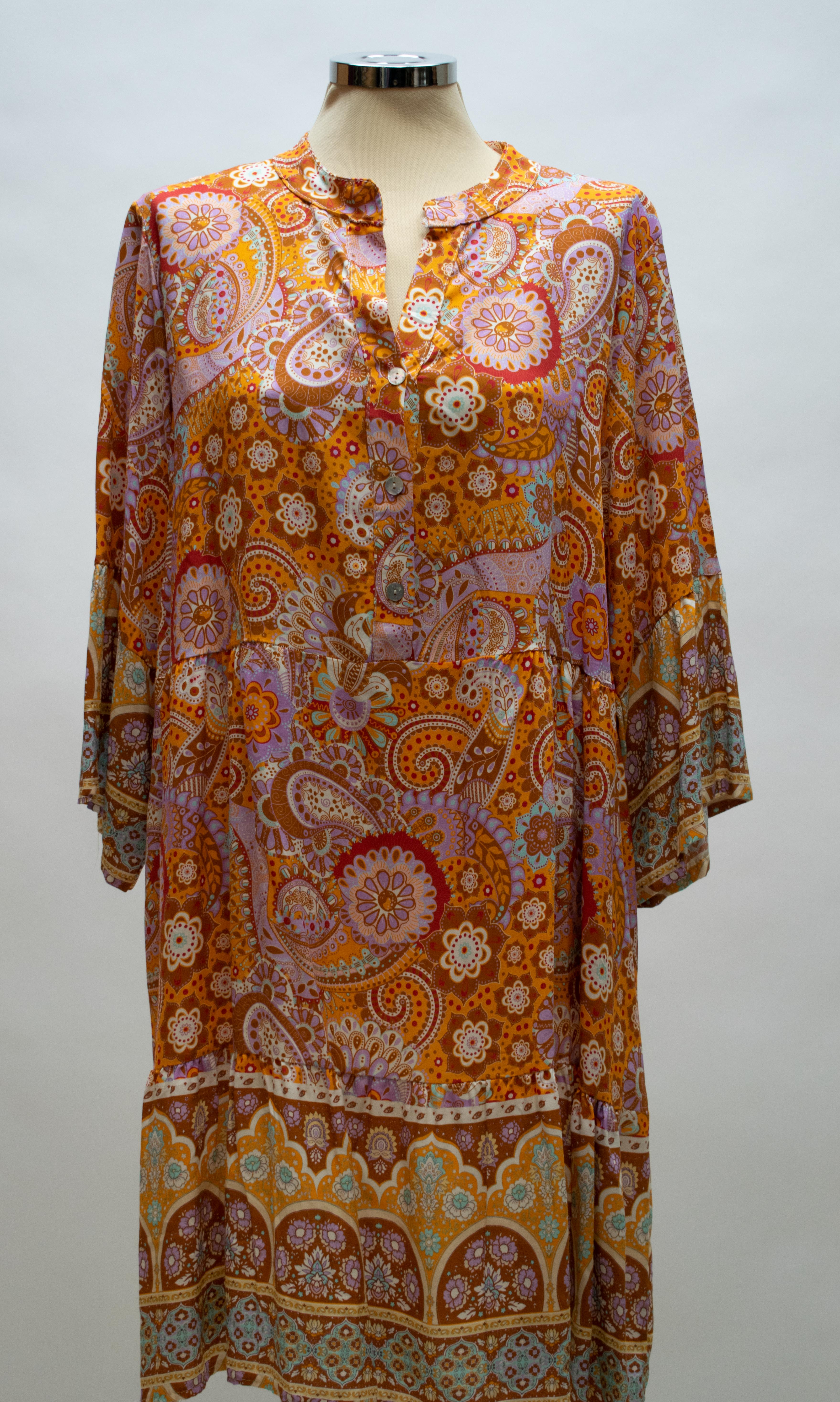 Tunika/Kleid Orange