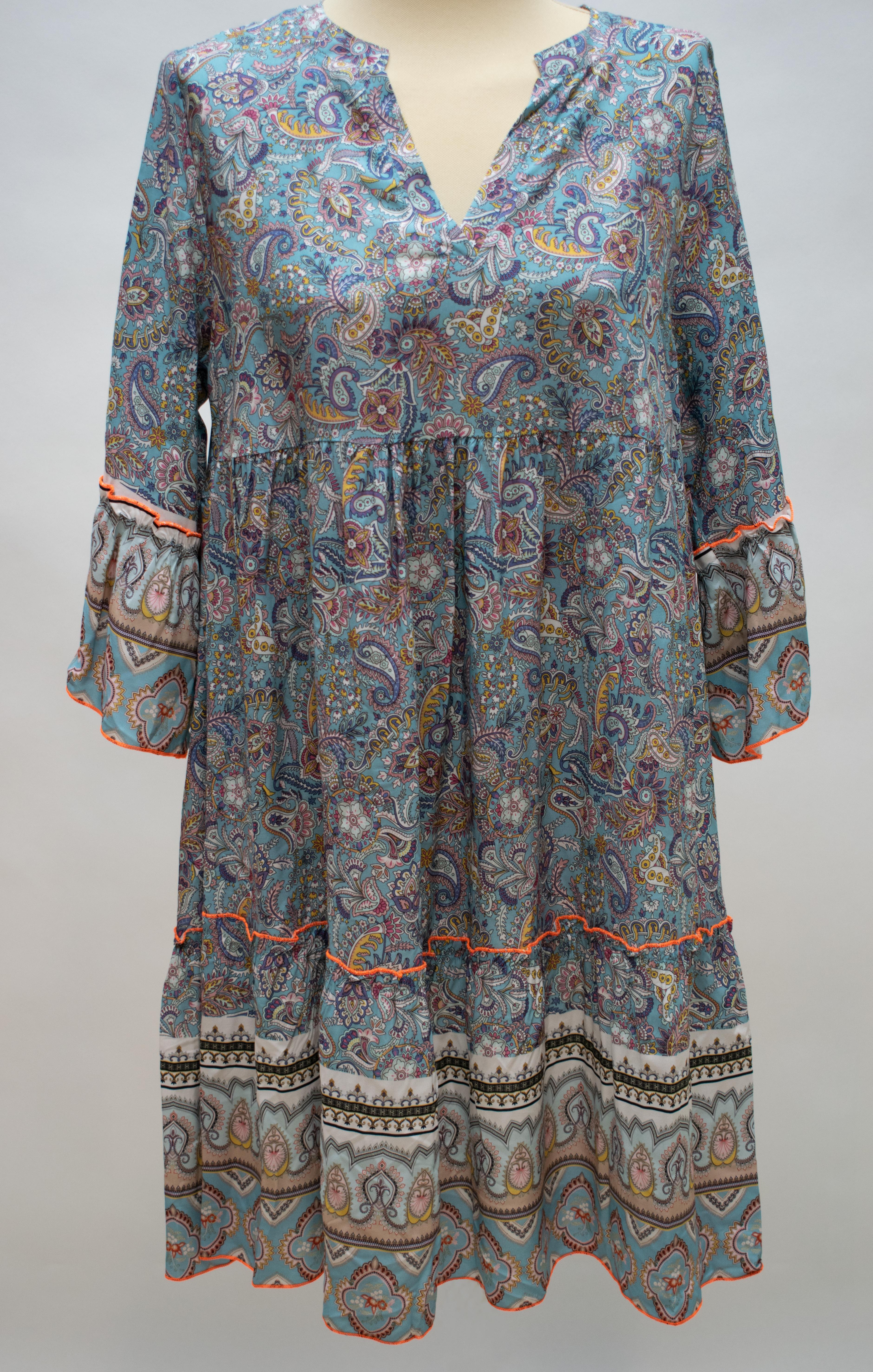 Tunika/Kleid blau