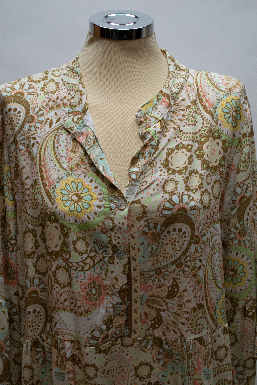 Tunika/Kleid in Sand/Beige Farben