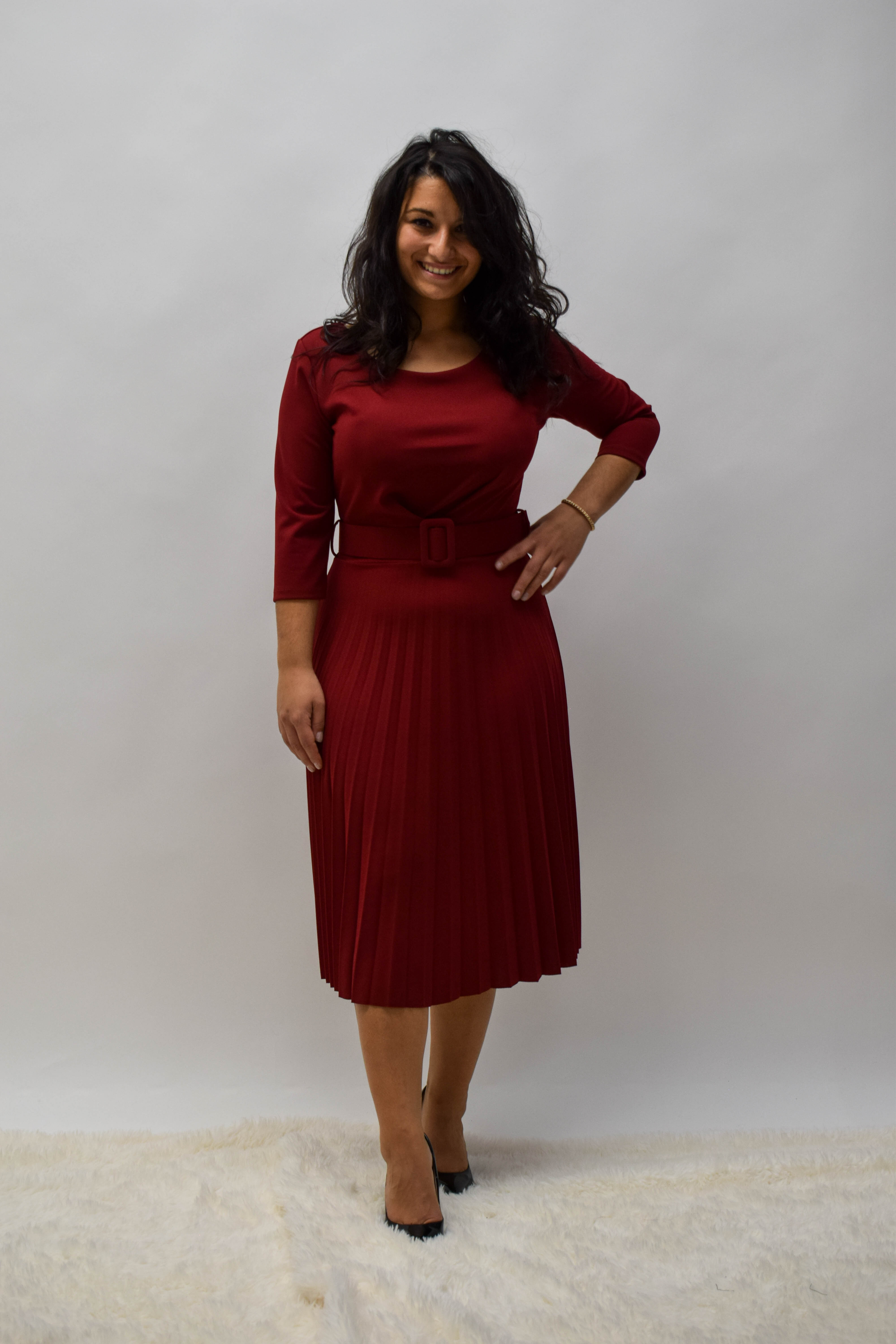 Partykleid knielang