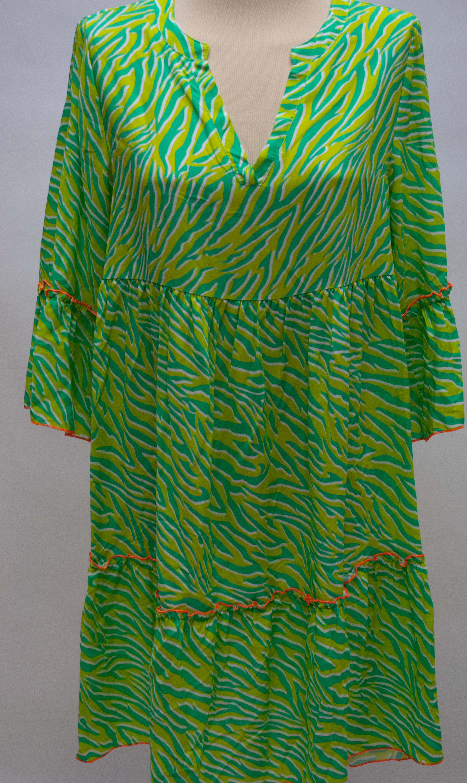 Tunika/Kleid grün/neon